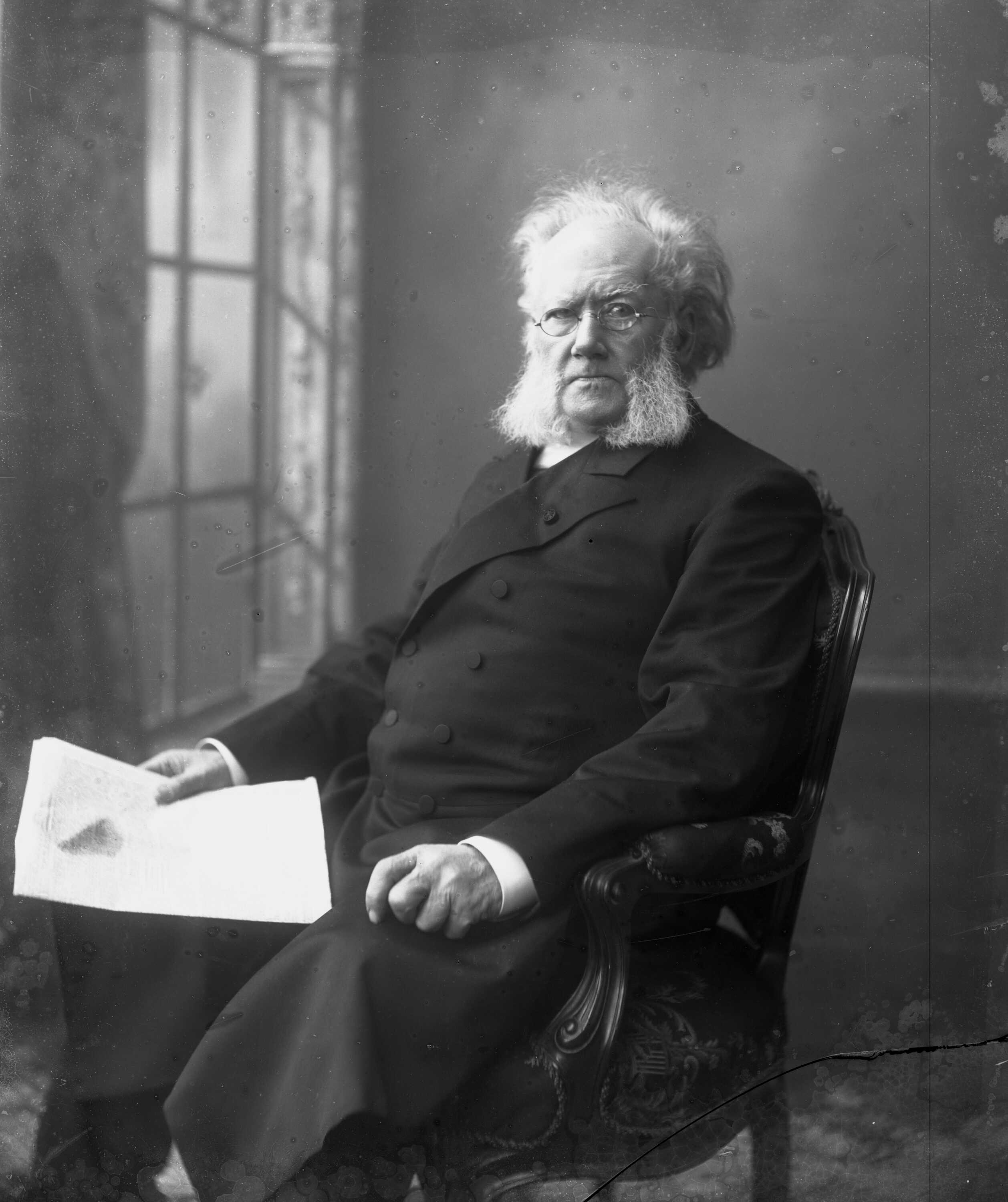 how does henrik ibsen's use of A doll's house (bokmål: et dukkehjem also translated as a doll house) is a three-act play written by norway's henrik ibsen it premiered at the royal theatre in copenhagen, denmark, on 21 december 1879, having been published earlier that month the play is set in a norwegian town circa 1879.