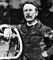 Henry Fleuss (1851-1932) improved the rebreather technology. Henry Albert Fleuss.jpg