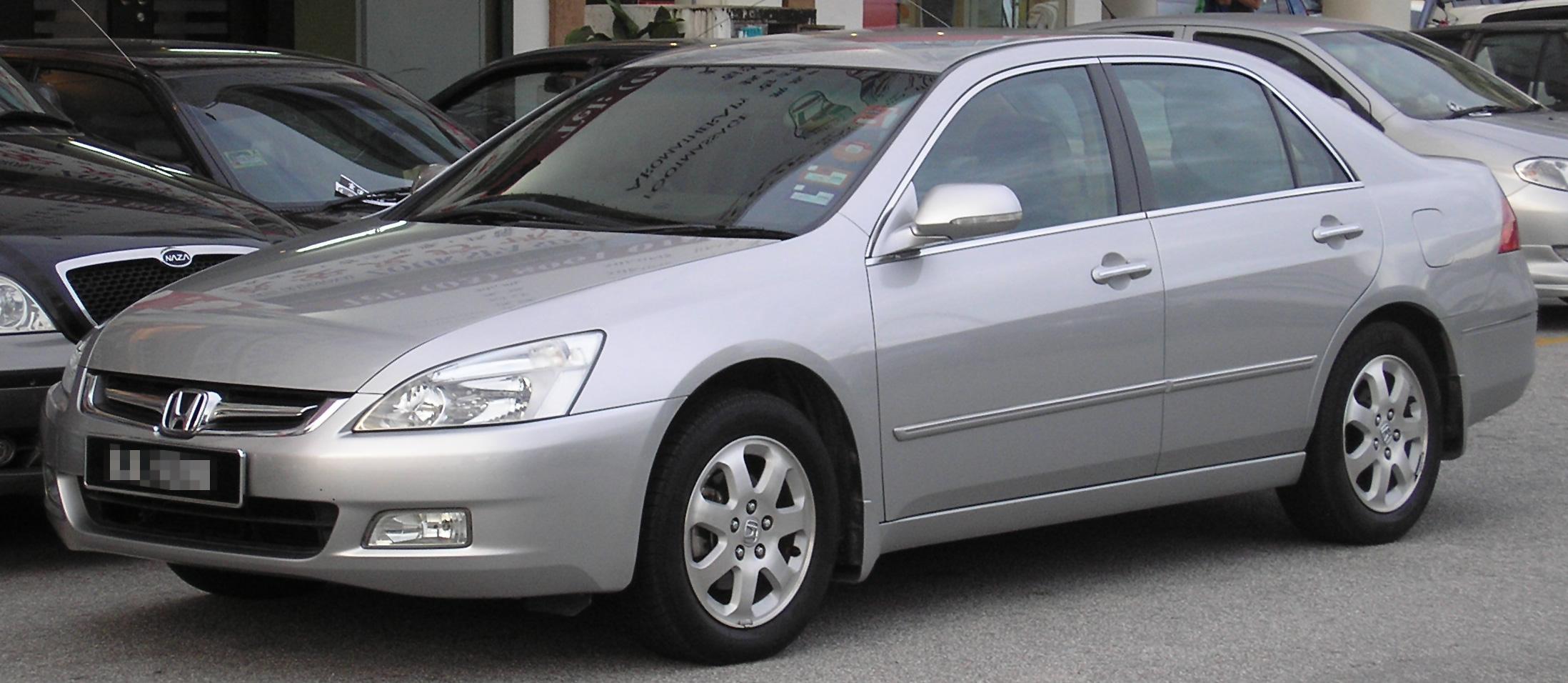 First Honda Accord
