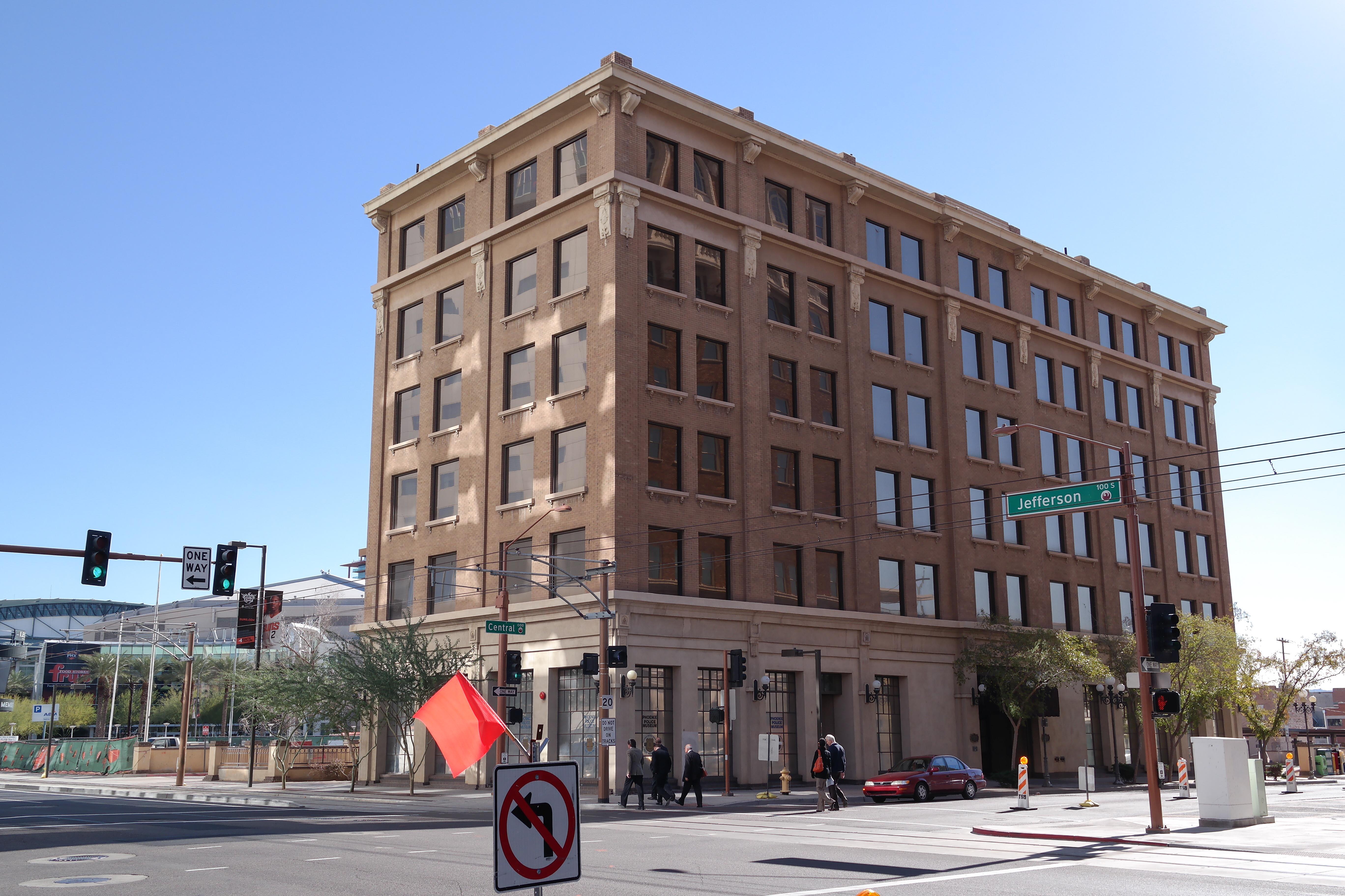File jefferson hotel phoenix arizona jpg wikimedia for Hotels 85016
