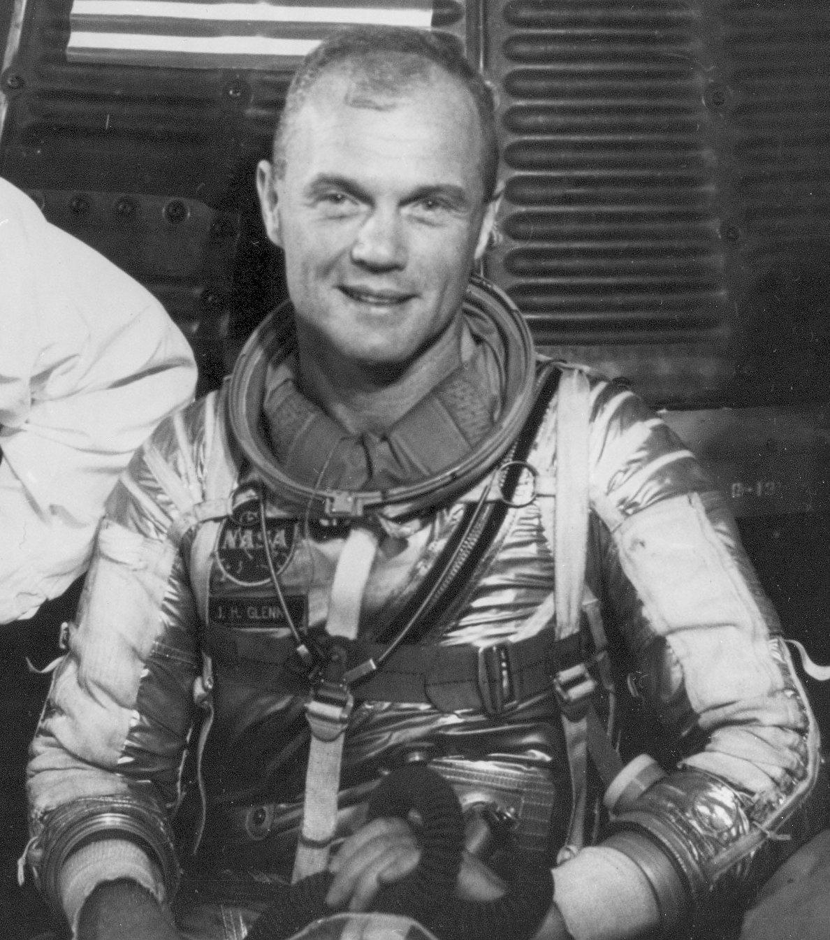 Image result for Image of John Glenn