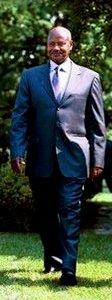 English: President Yoweri Kaguta Museveni of U...