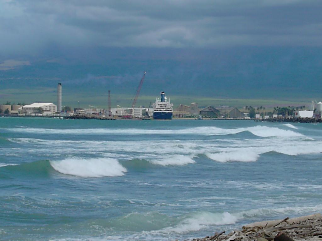 Port at Kahului