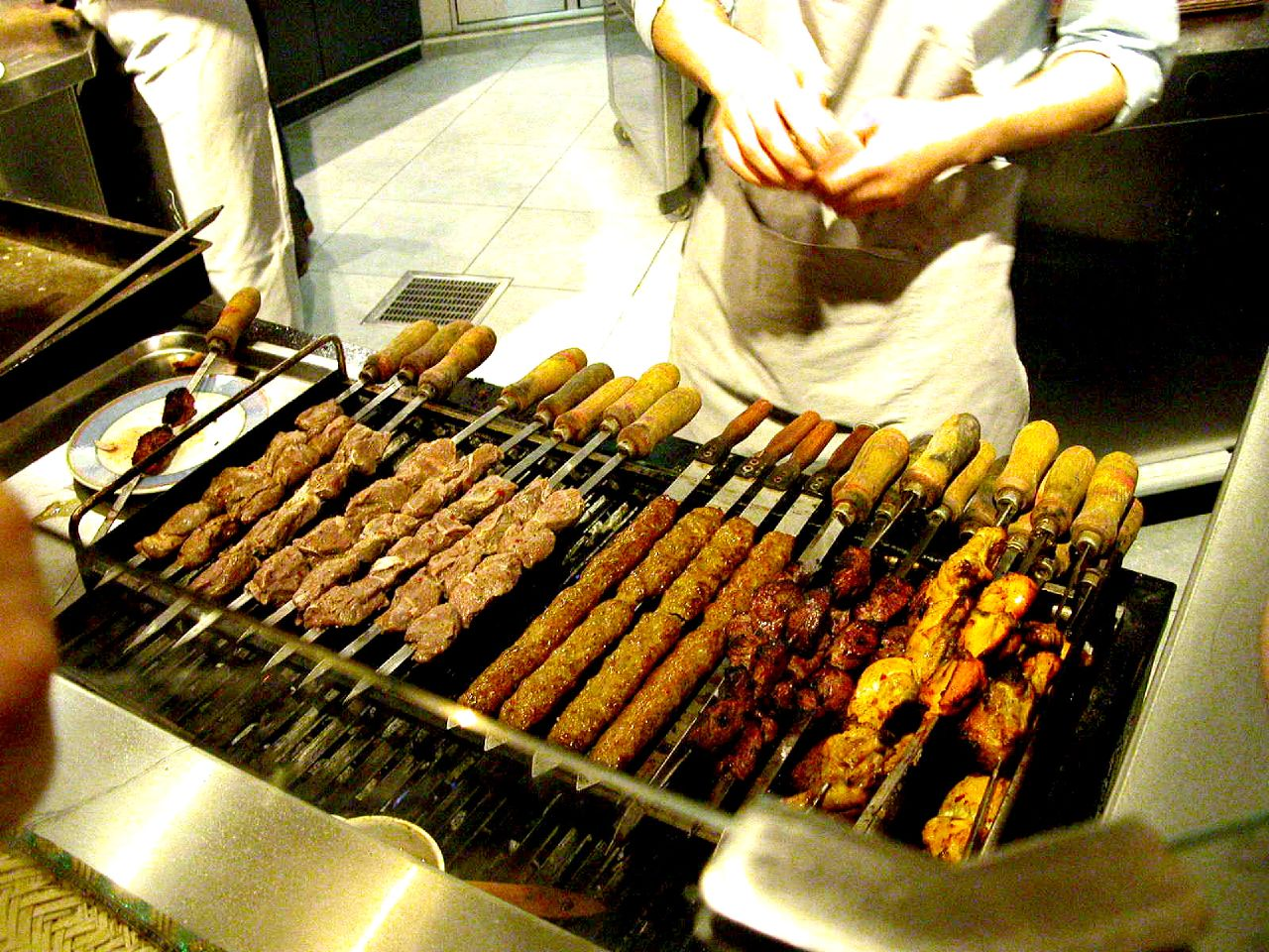 Kebabs are an important part of Awadhi cuisine