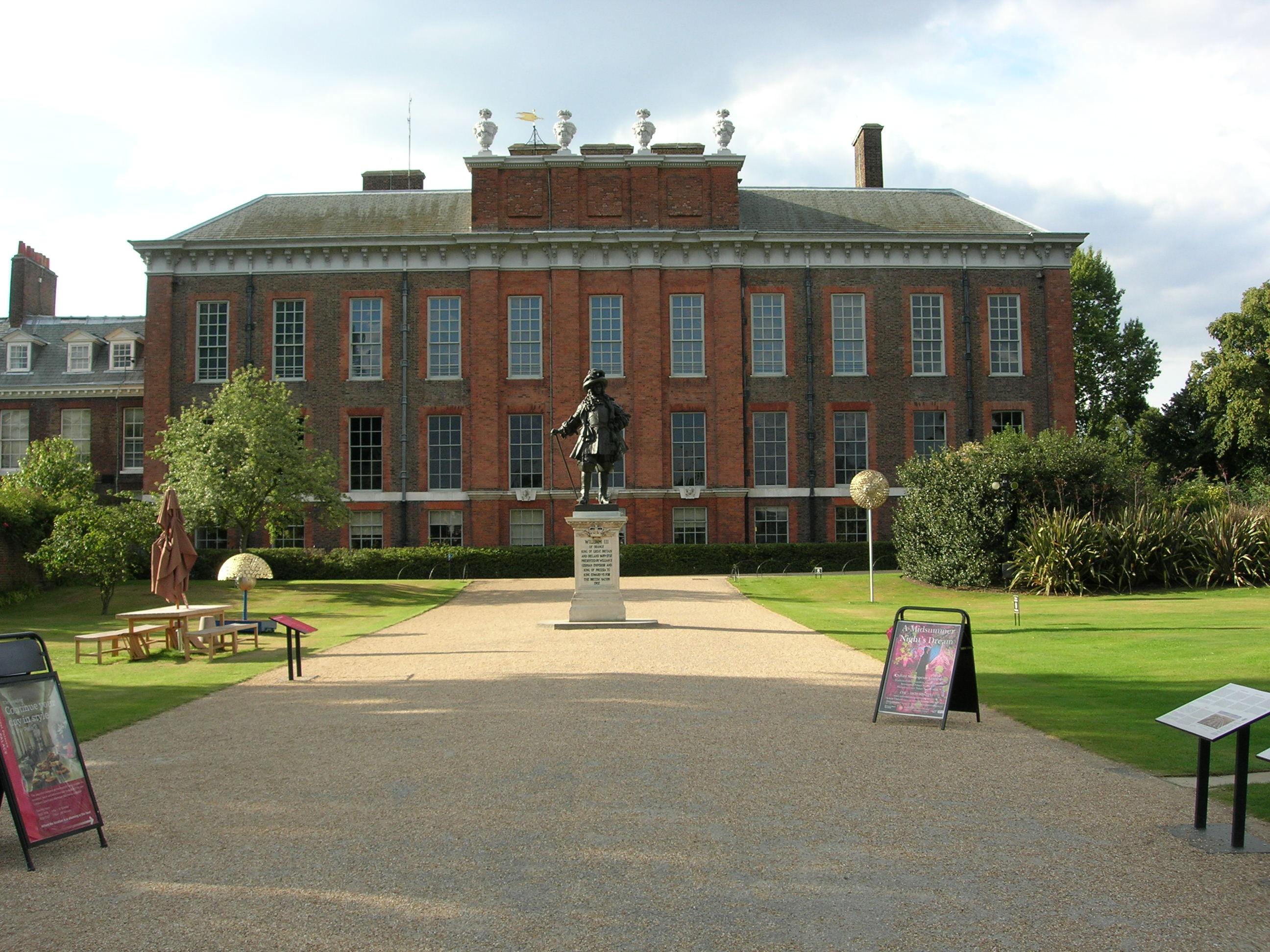 kensington palace london william kate