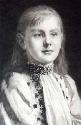 少女時代のウィルヘルミナ女王