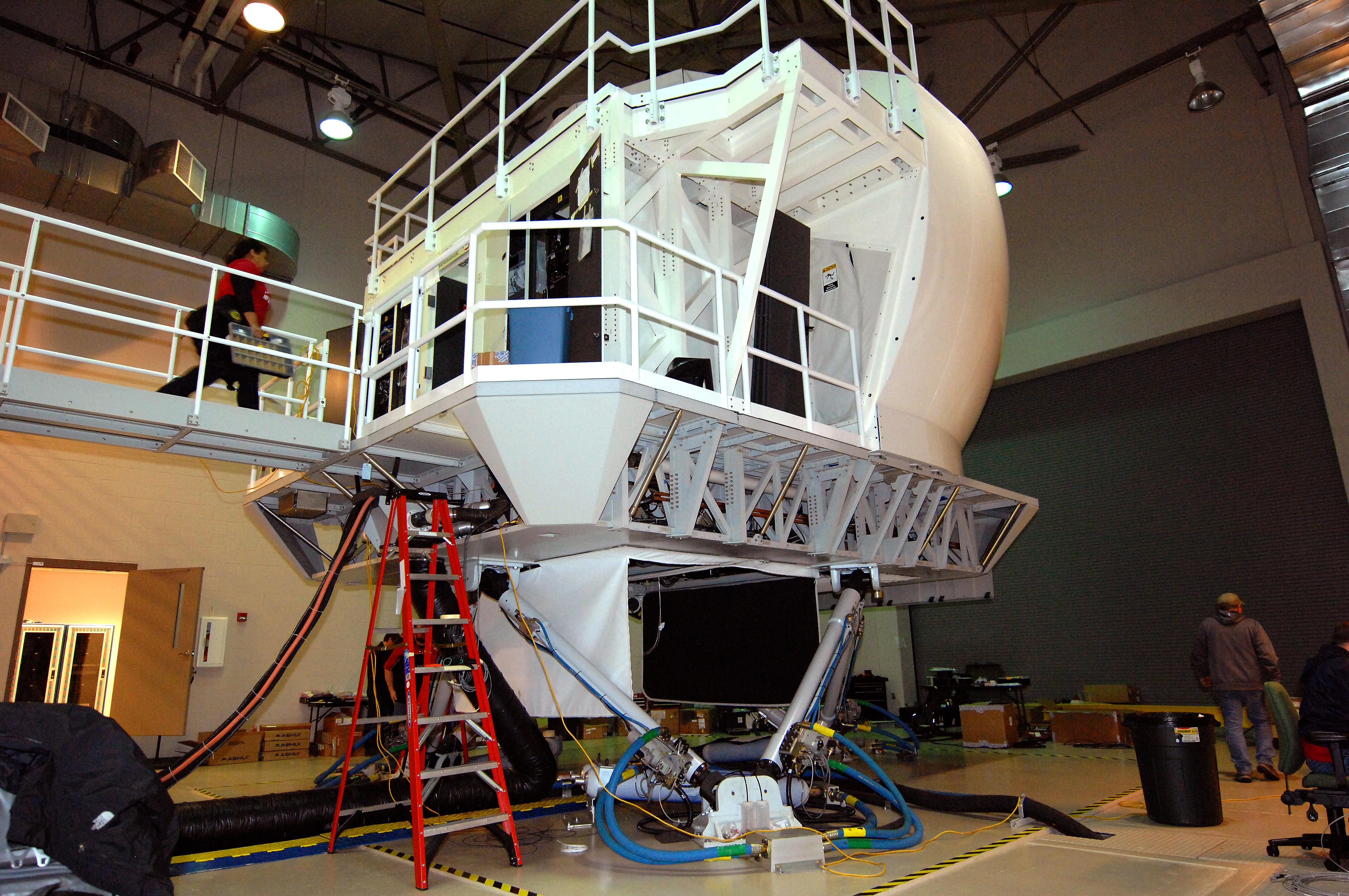 File:L3 Technologies RC-135 full flight simulator in Offutt