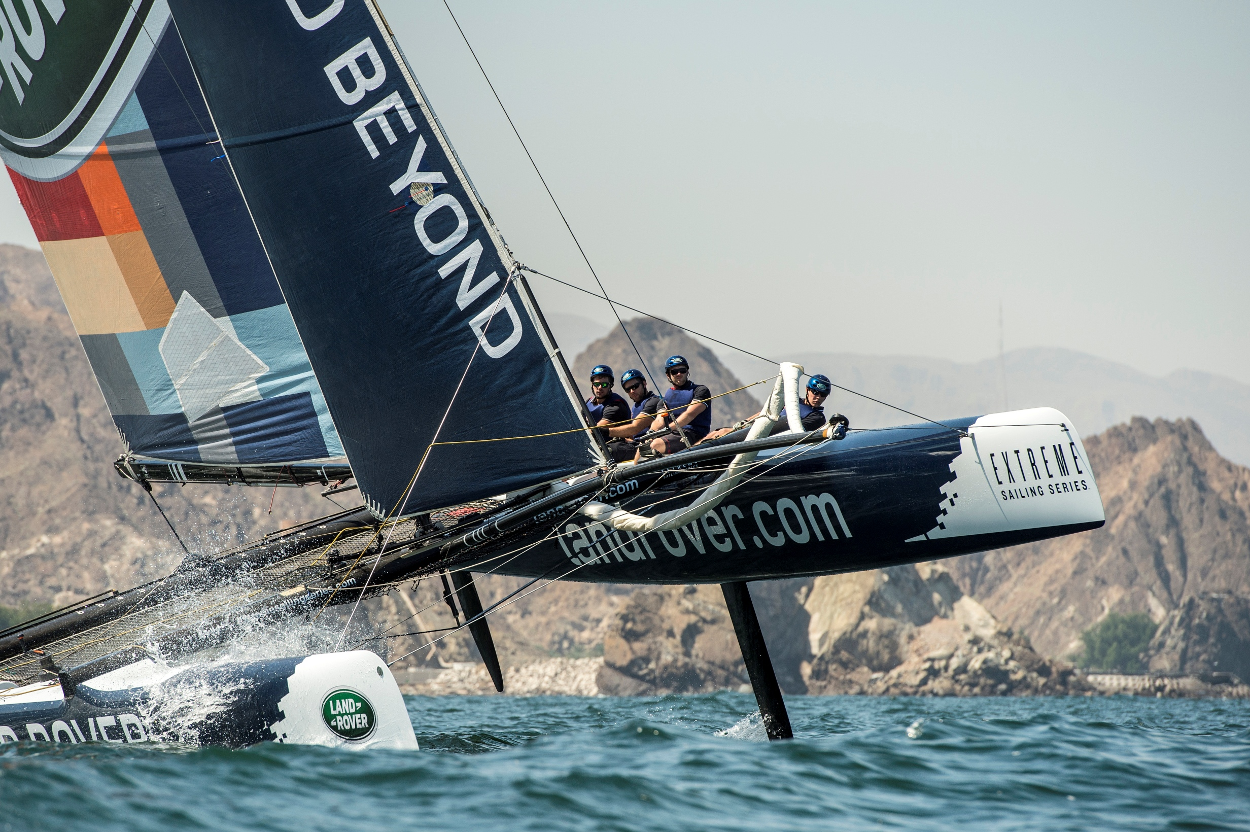 File Land Rover And Extreme Sailing Series Enjoy Thrill