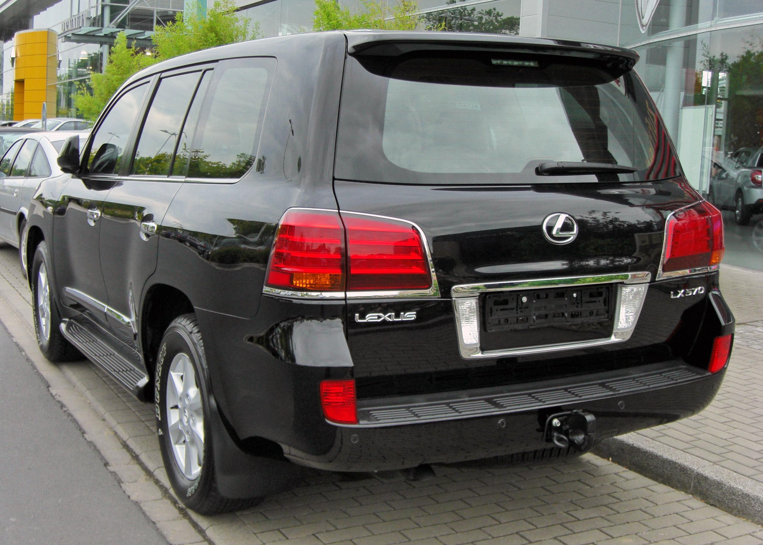 File Lexus Lx 570 20090620 Rear Jpg