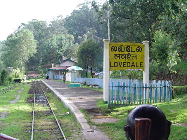 Lovedale railway station
