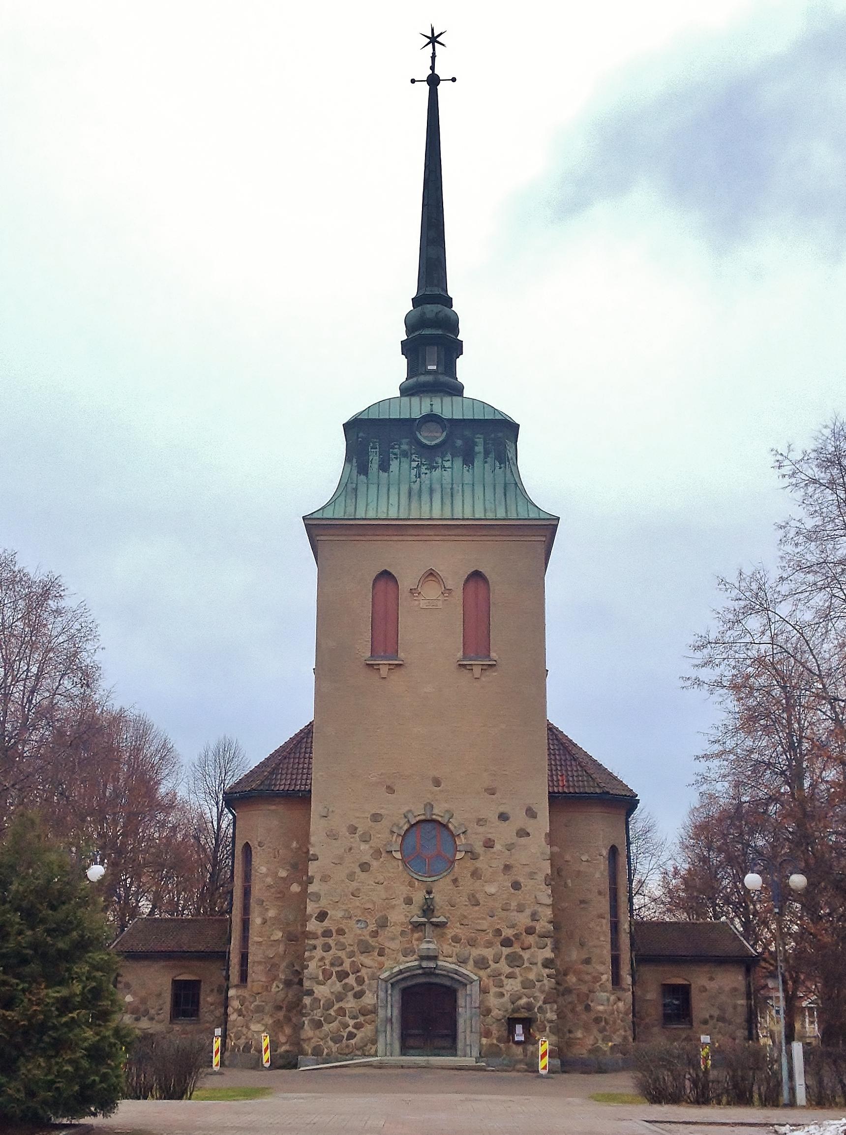Mänttä Church on 13th December 2015 1.jpg