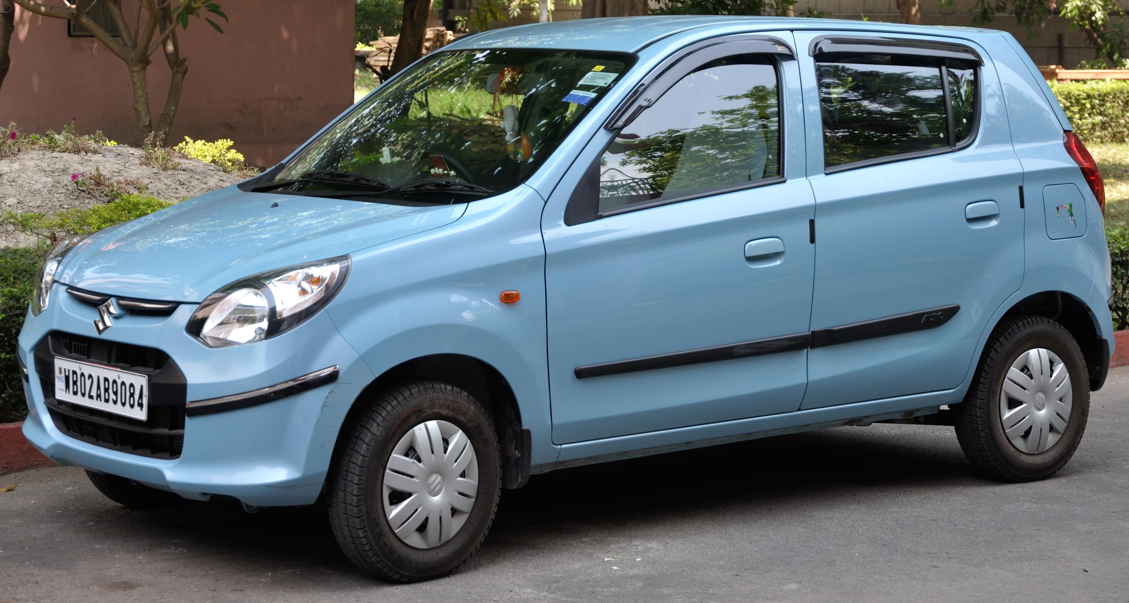 Maruti_Suzuki_-_Alto_800_LXi Цоо шинээр нь авахад хамгийн хямд автомашинууд