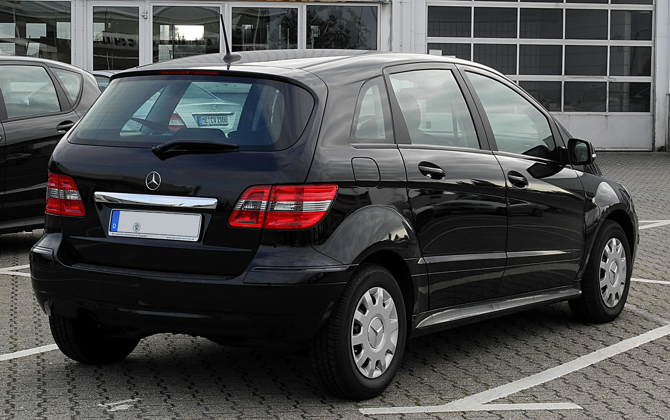 file mercedes benz b klasse t 245 facelift heckansicht 3 juli 2011. Black Bedroom Furniture Sets. Home Design Ideas
