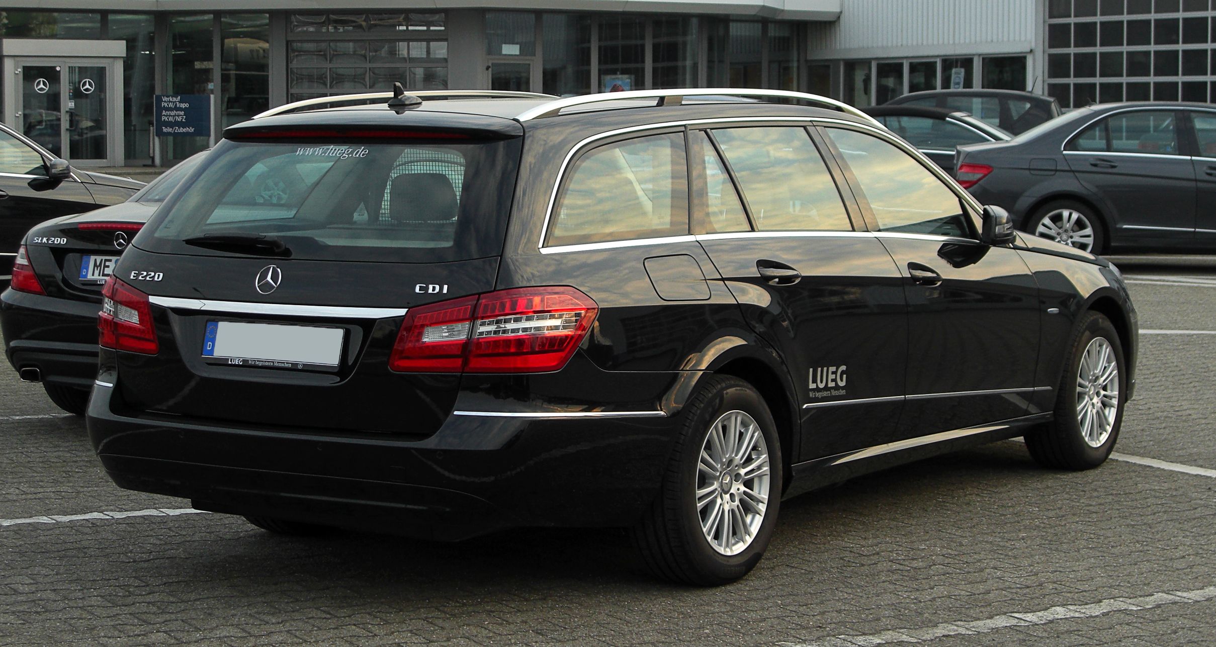 File Mercedes Benz E 220 Cdi Blueefficiency T Modell Elegance S 212 Heckansicht 14 April