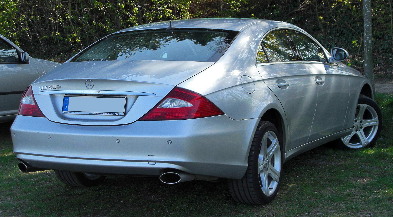 File mercedes cls 500 rear wikimedia commons for Mercedes benz cls 500 precio