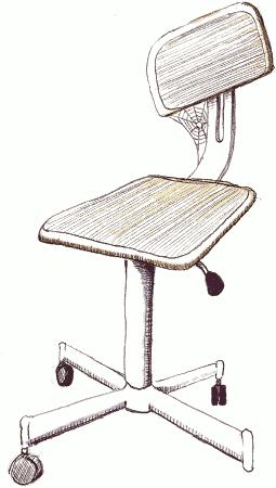 Mini-pied de réparation vélo - 01 Dessin chaise abandonnée.png