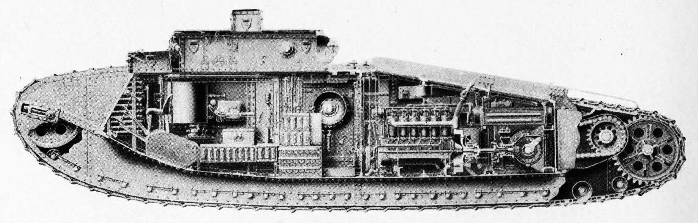Cutaway Mark VIII