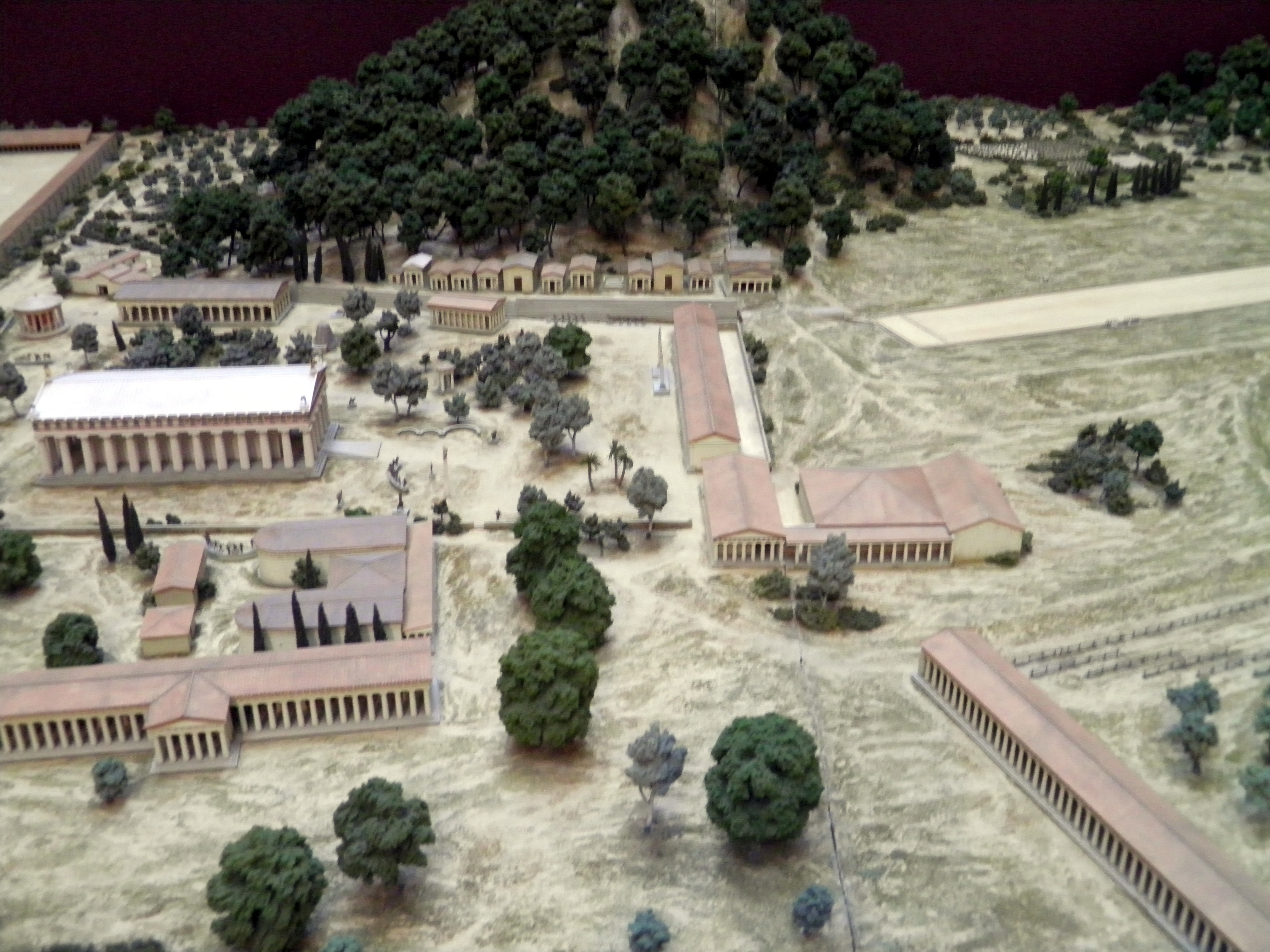 File:Model of ancient Olympia, British Museum5.jpg - Wikimedia Commons