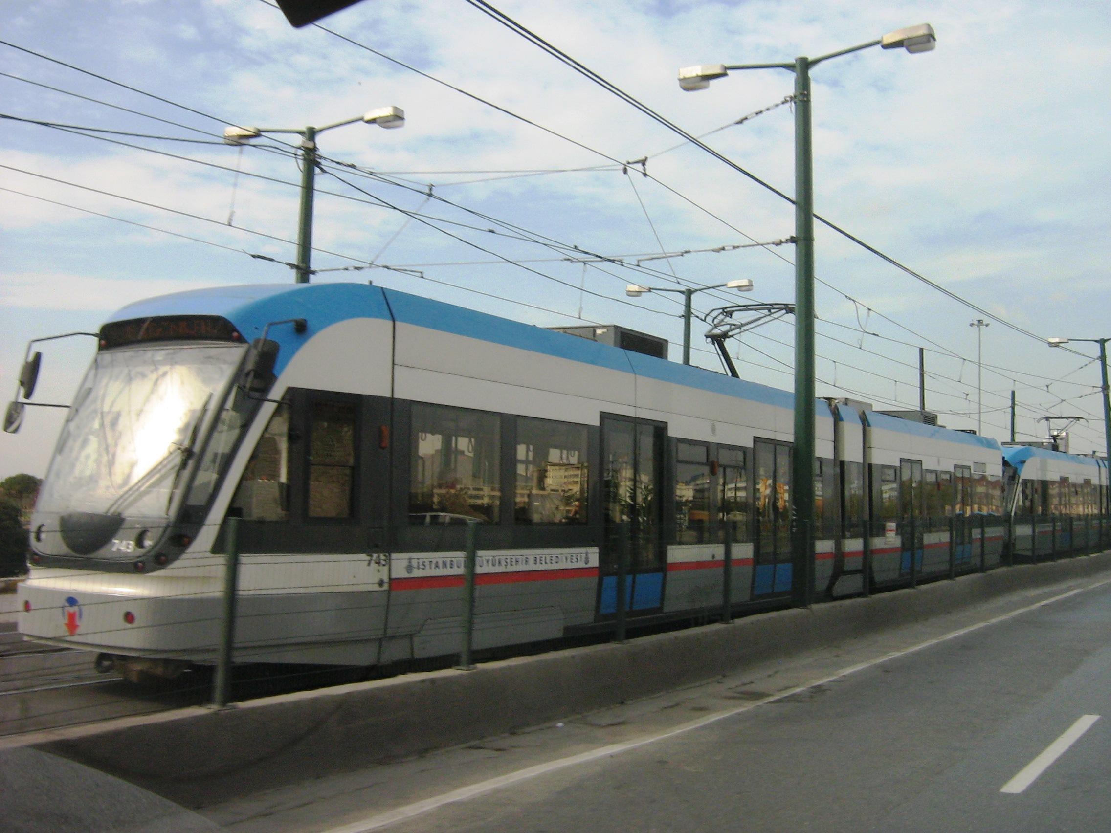 Modern tram in Istanbul.jpg