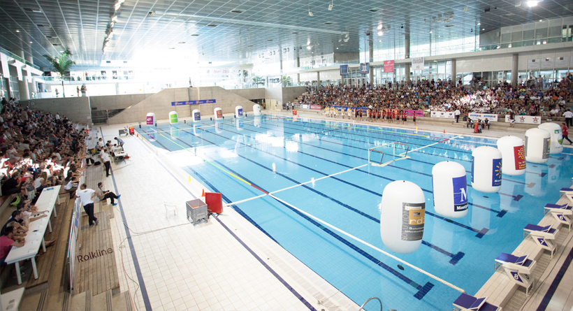 Montpellier water polo wikip dia for Piscine de colombes horaires