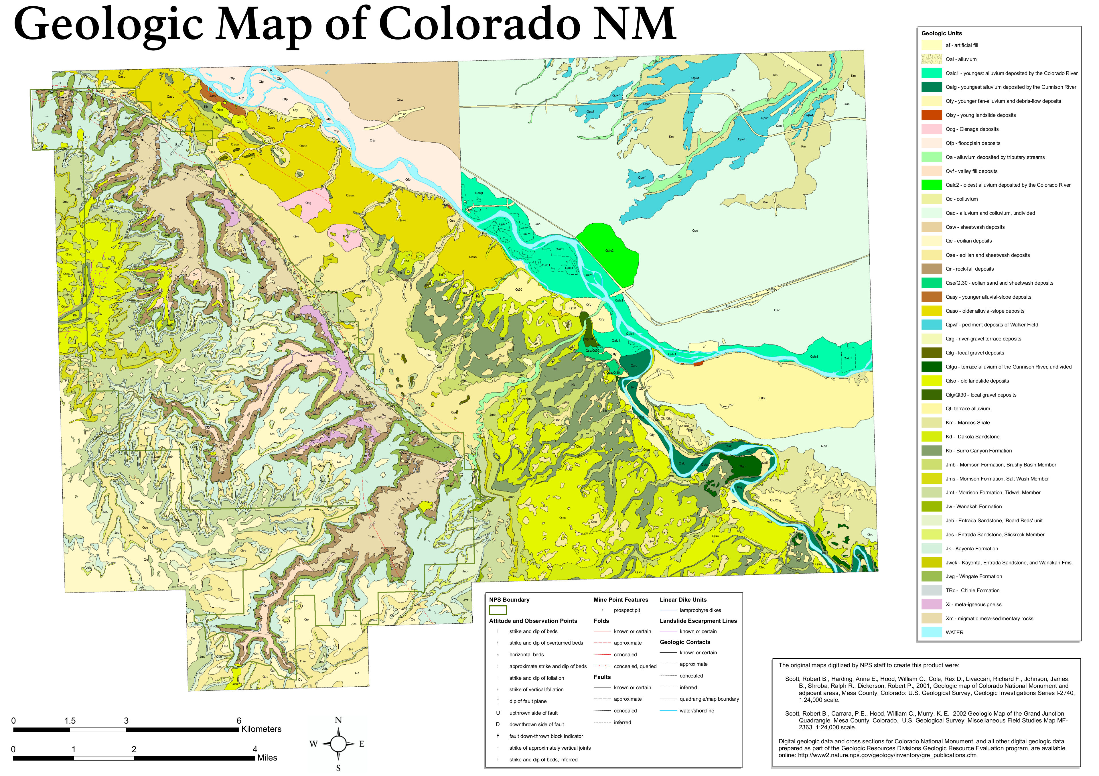 File:NPS colorado-national-monument-geologic-map.jpg - Wikimedia Commons