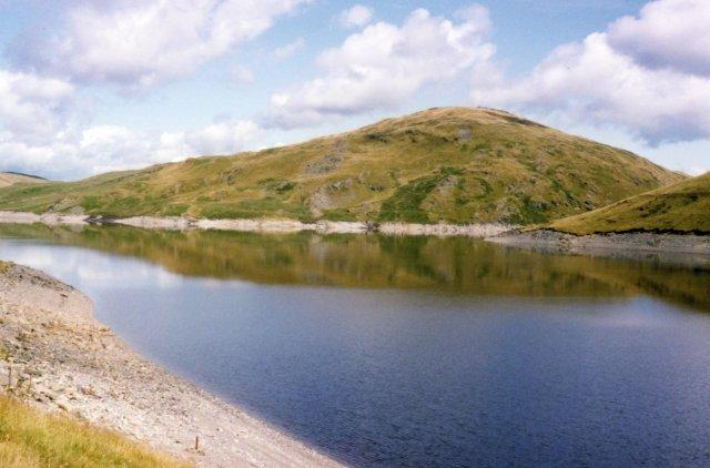 Nant-y-moch reservoir - geograph.org.uk - 4887