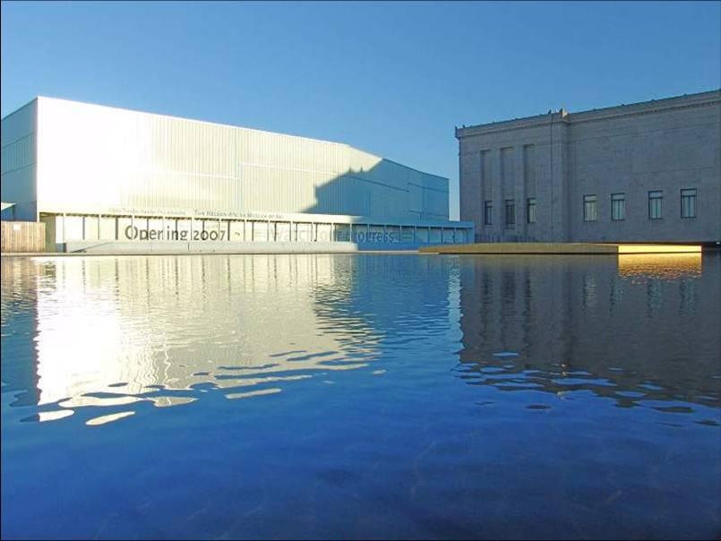 The Nelson Atkins Museum Of Art Henry Bloch Building Kansas City