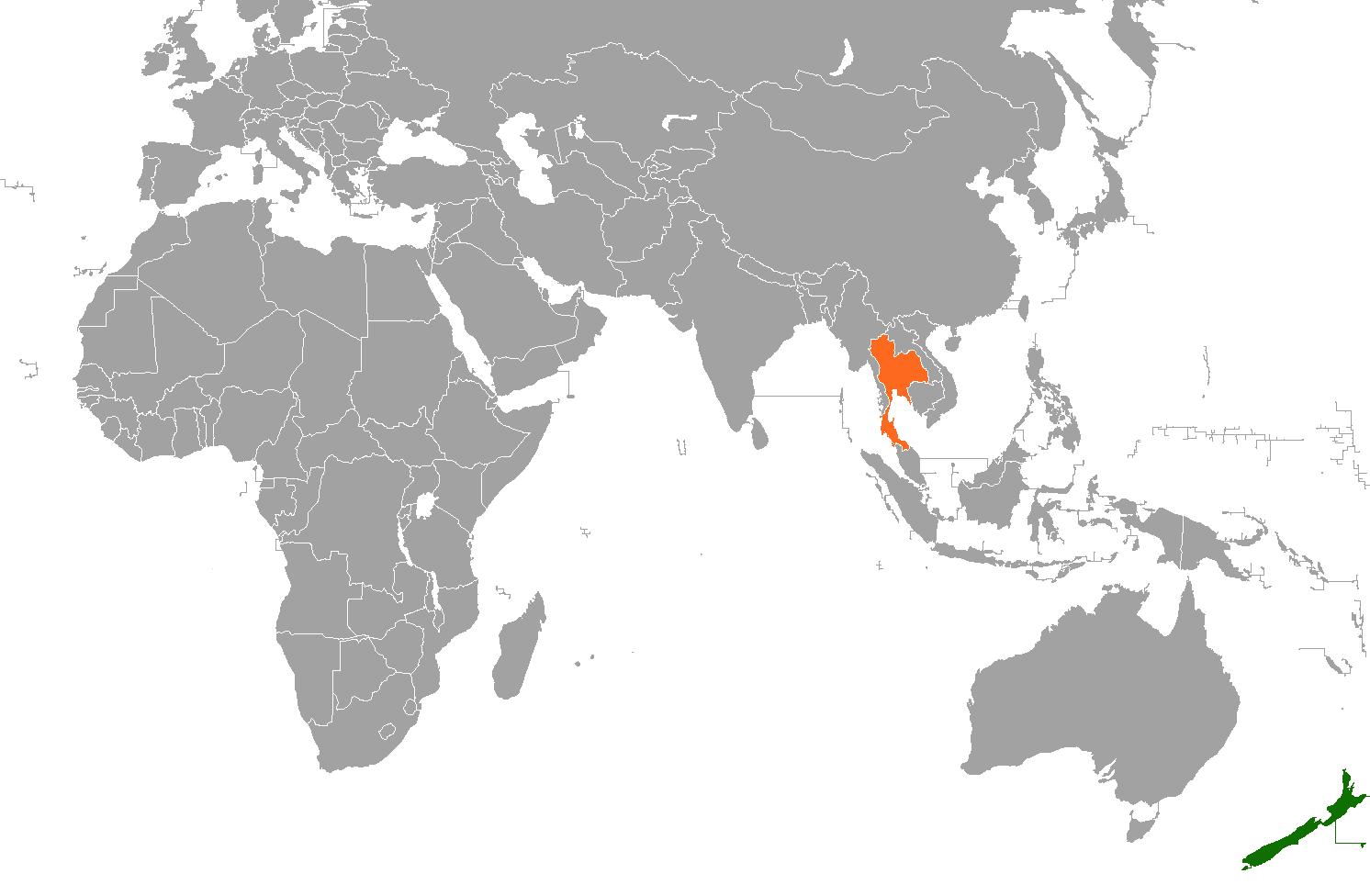 New Zealand Thailand Relations Wikipedia