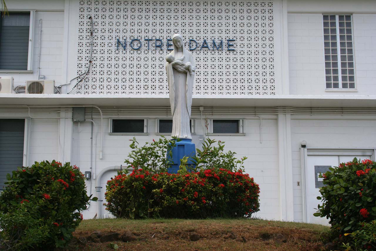 Image result for Notre Dame High School Guam