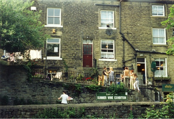 "One of Holmfirth's locations for ""Last of the Summer Wine"" - geograph.org.uk - 346717"