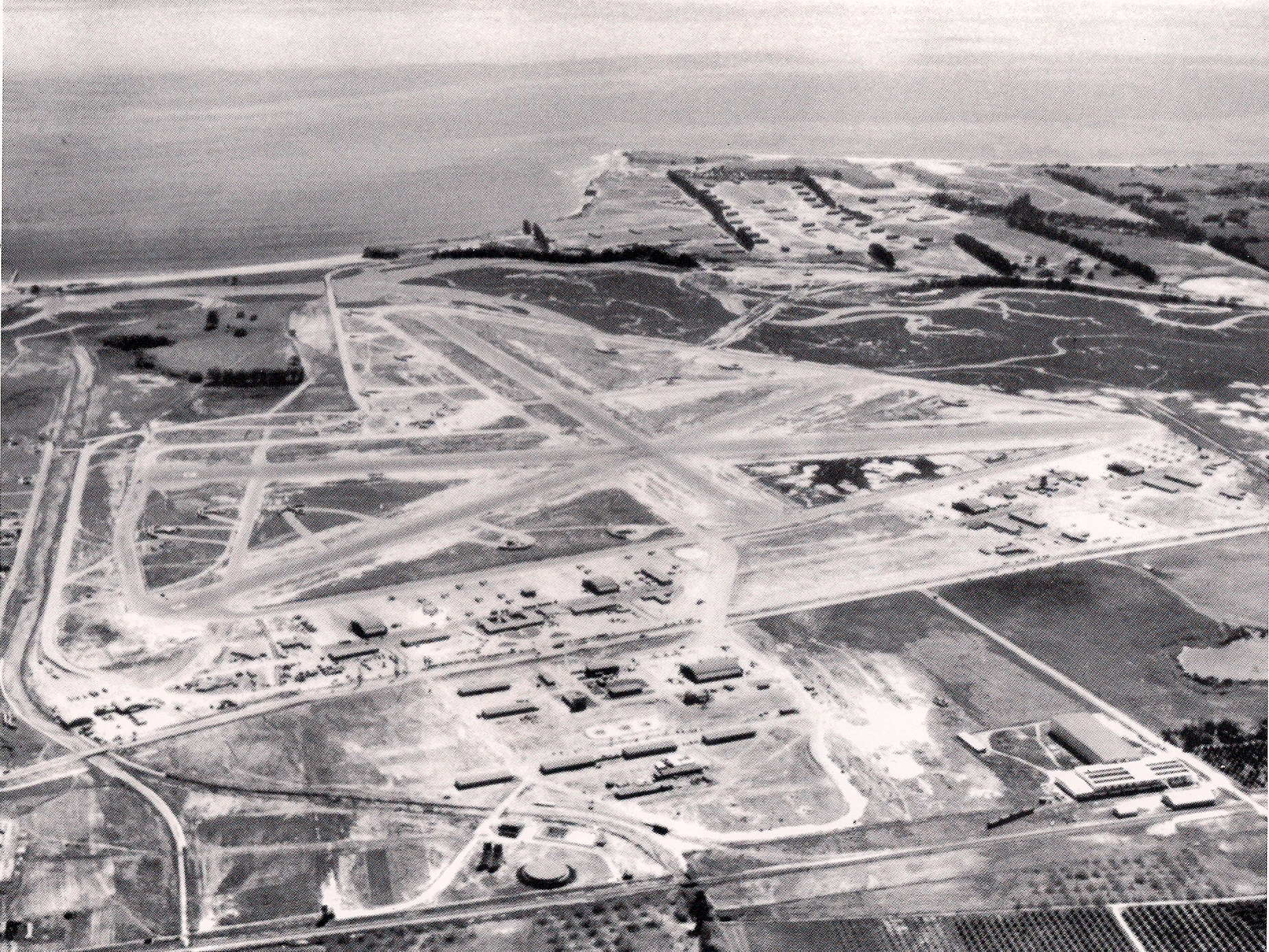 Overhead MCAS Santa Barbara In April Of 1944