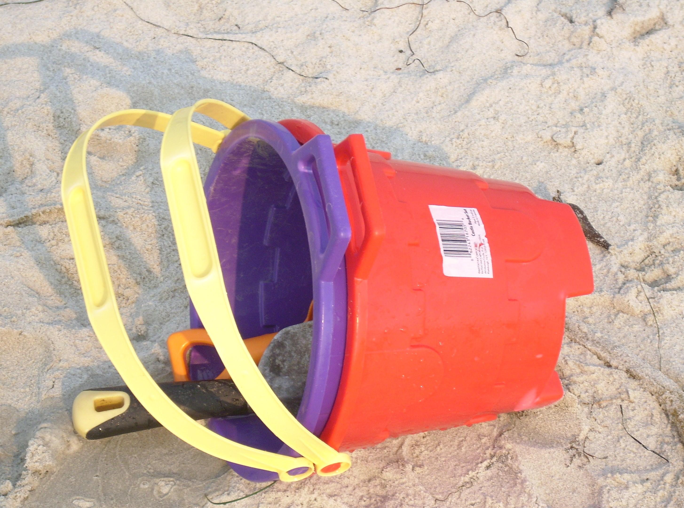 pails and shovel