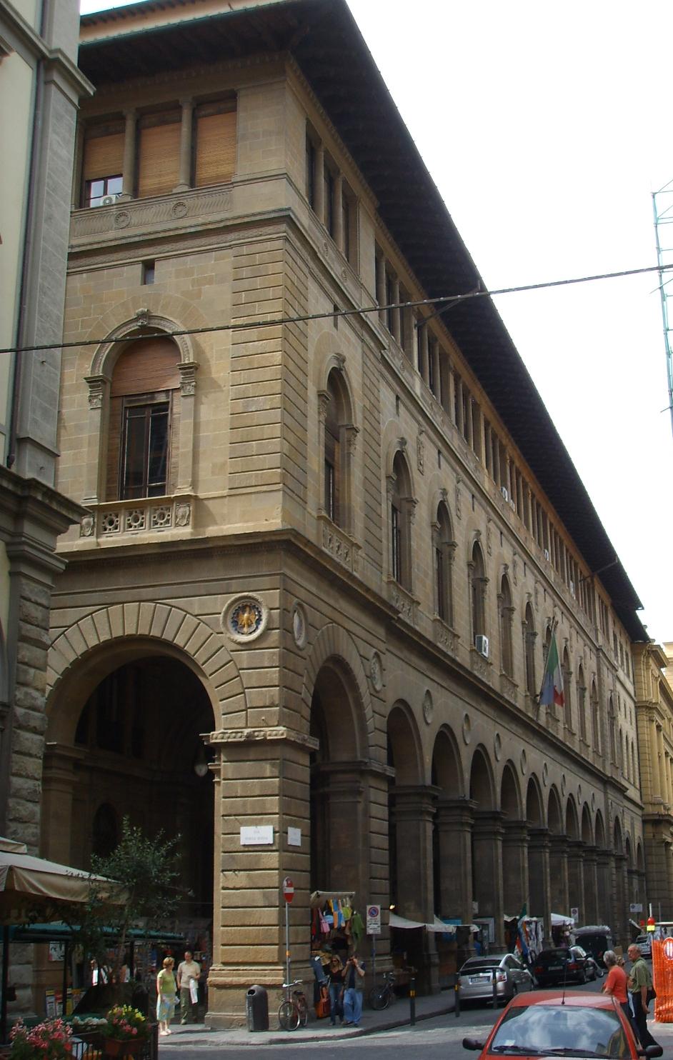 Palazzo delle poste firenze wikipedia - Via porta rossa firenze ...