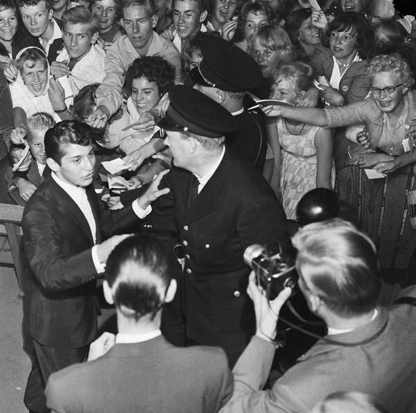 Paul Anka en Gröna Lund en Estcolomo, 1959.