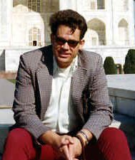 Per Brinch Hansen at the Taj Mahal, after attending a conference in Bombay (1975)