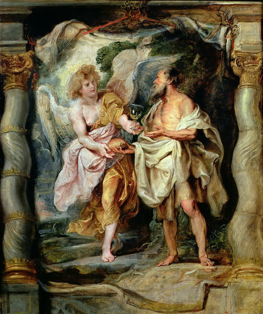 File:Peter Paul Rubens - The Prophet Elijah Receiving Bread and Water from an Angel - WGA20436.jpg