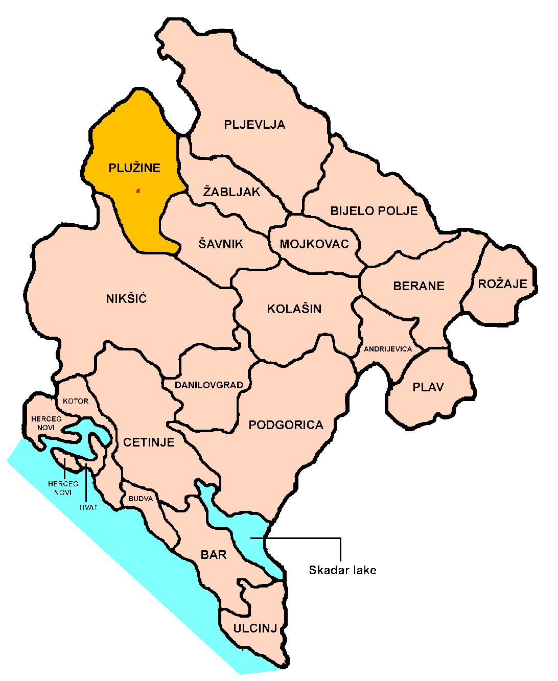 Rodoljub Drašković postao knez istočne Hercegovine - Page 2 Plužine-Position