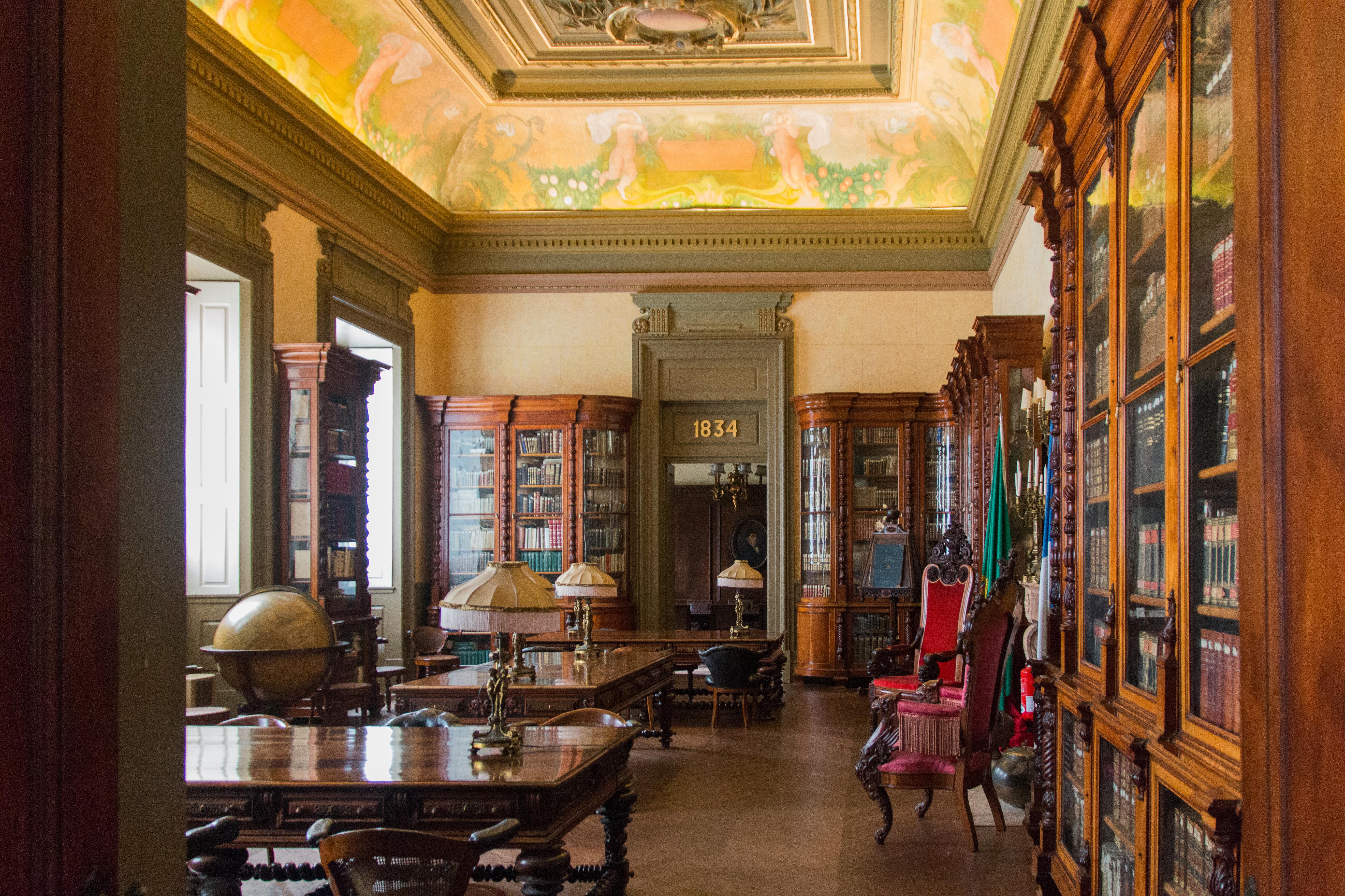 Ficheiro:Porto Palácio da Bolsa Biblioteca da Dreito