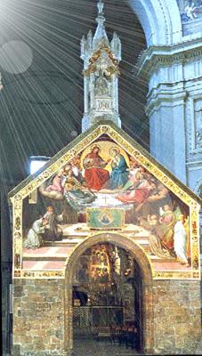 The Porziuncola, in Santa Maria degli Angeli