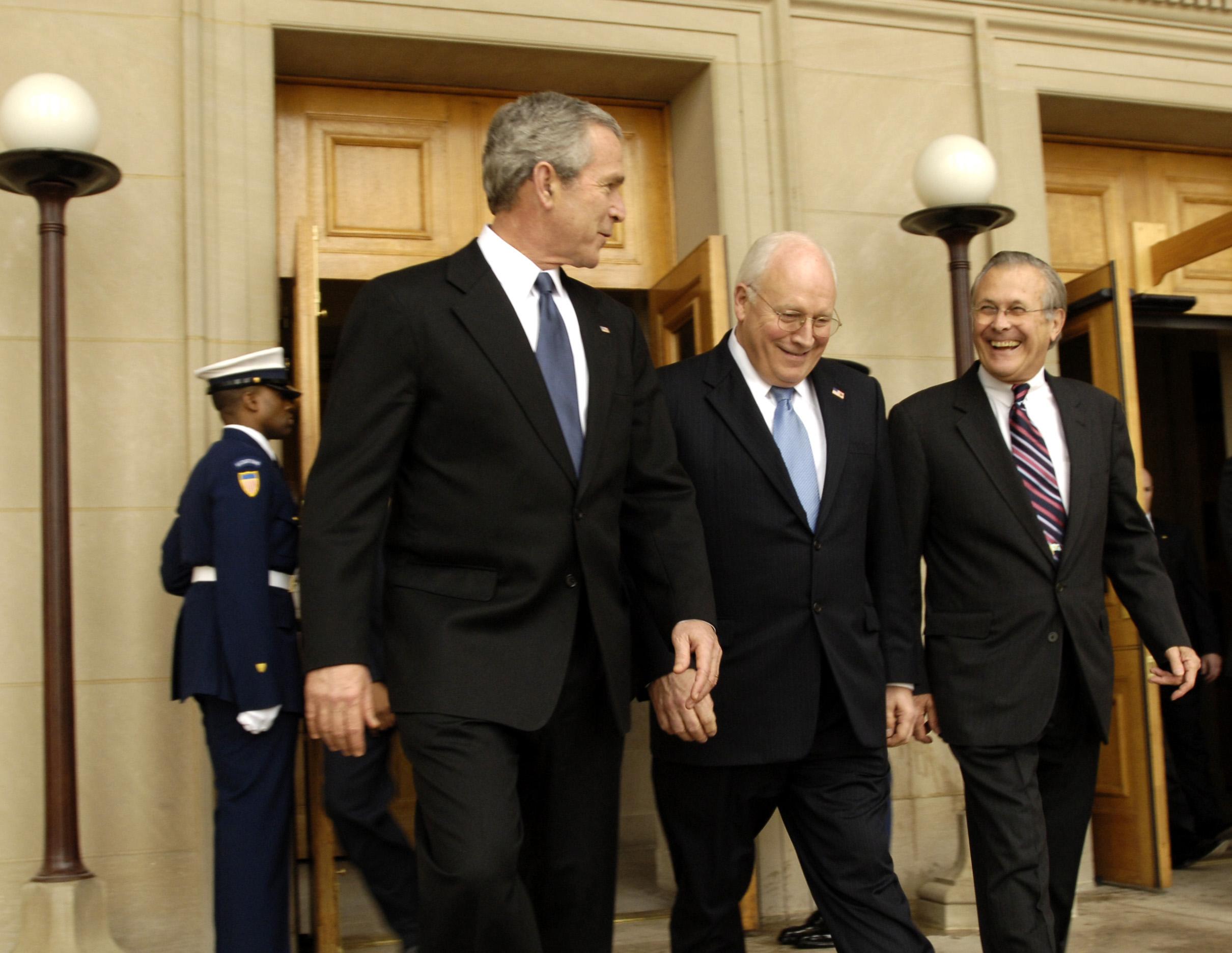 Art Photo:president Bush And Vice President Cheney 3