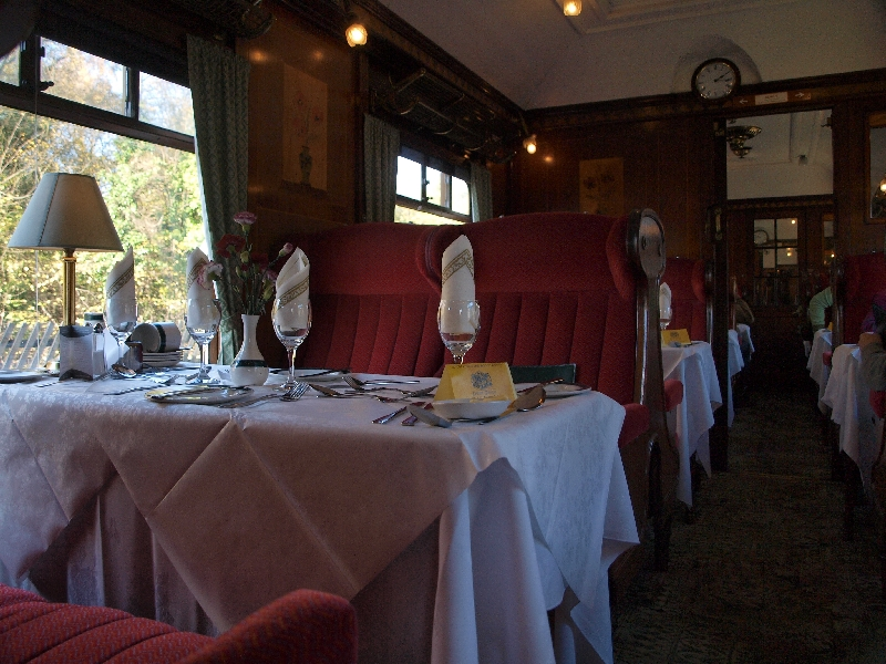 Nymr pullman Dining Train - Whitby, Redcar And Cleveland ...