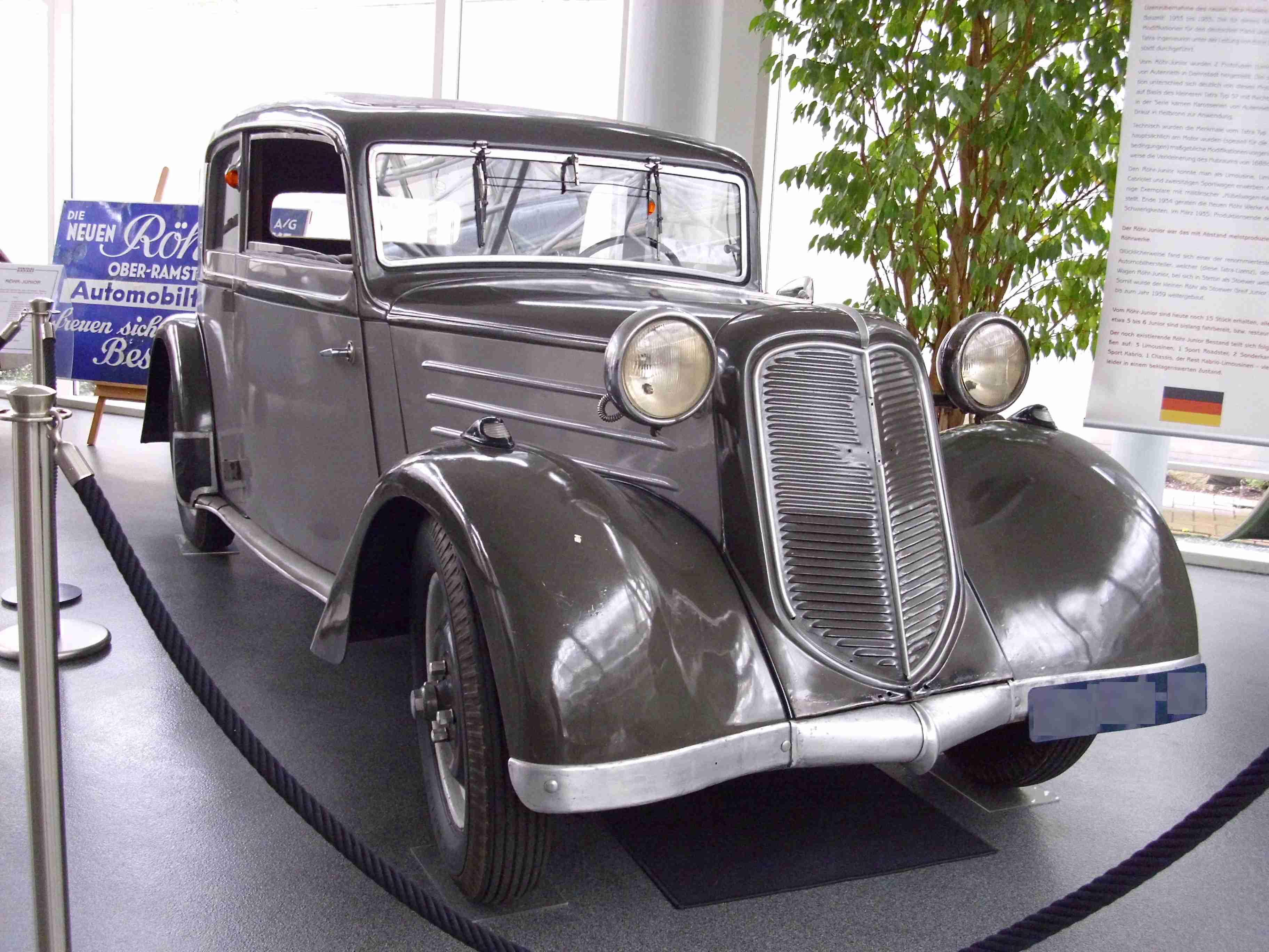 Dateiröhr Junior Limousine 1933jpg Wikipedia