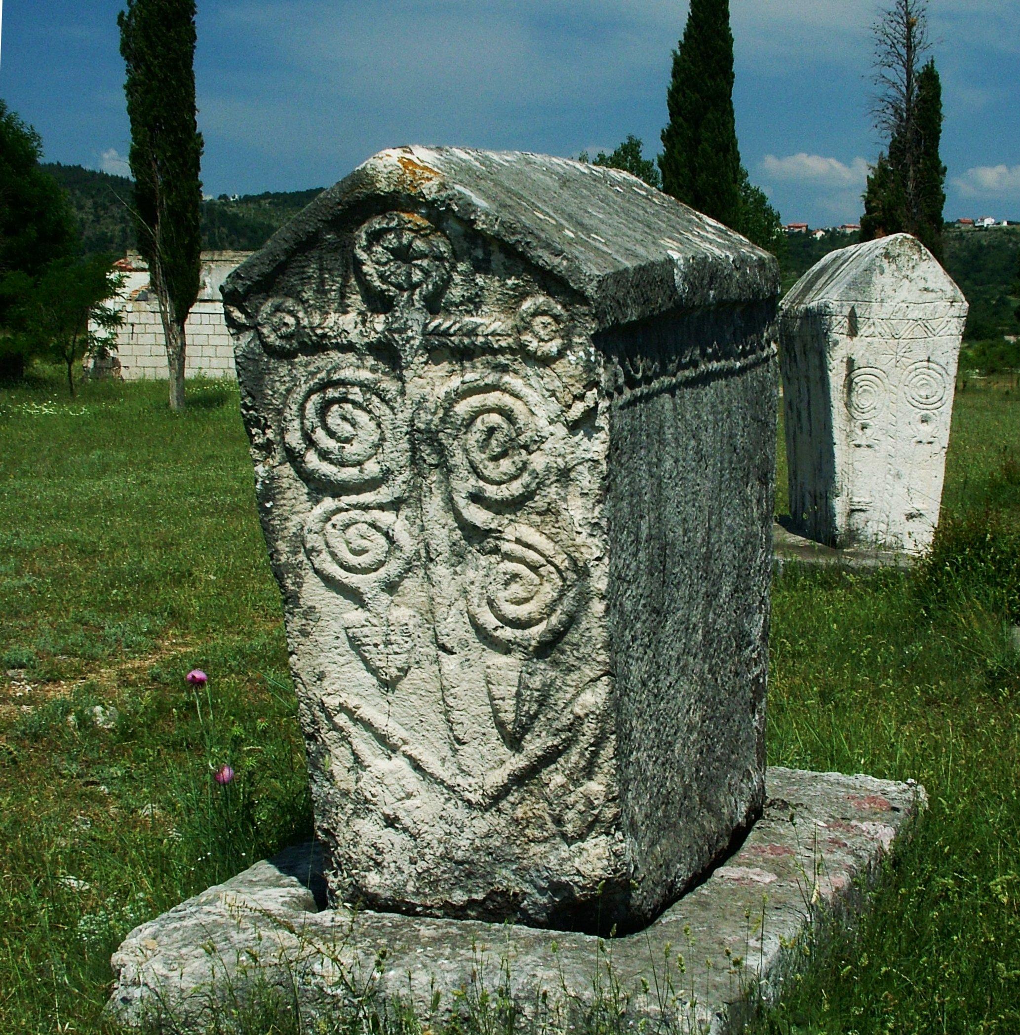 radimlje, bogumil nekropolisz sírkő 4.jpg
