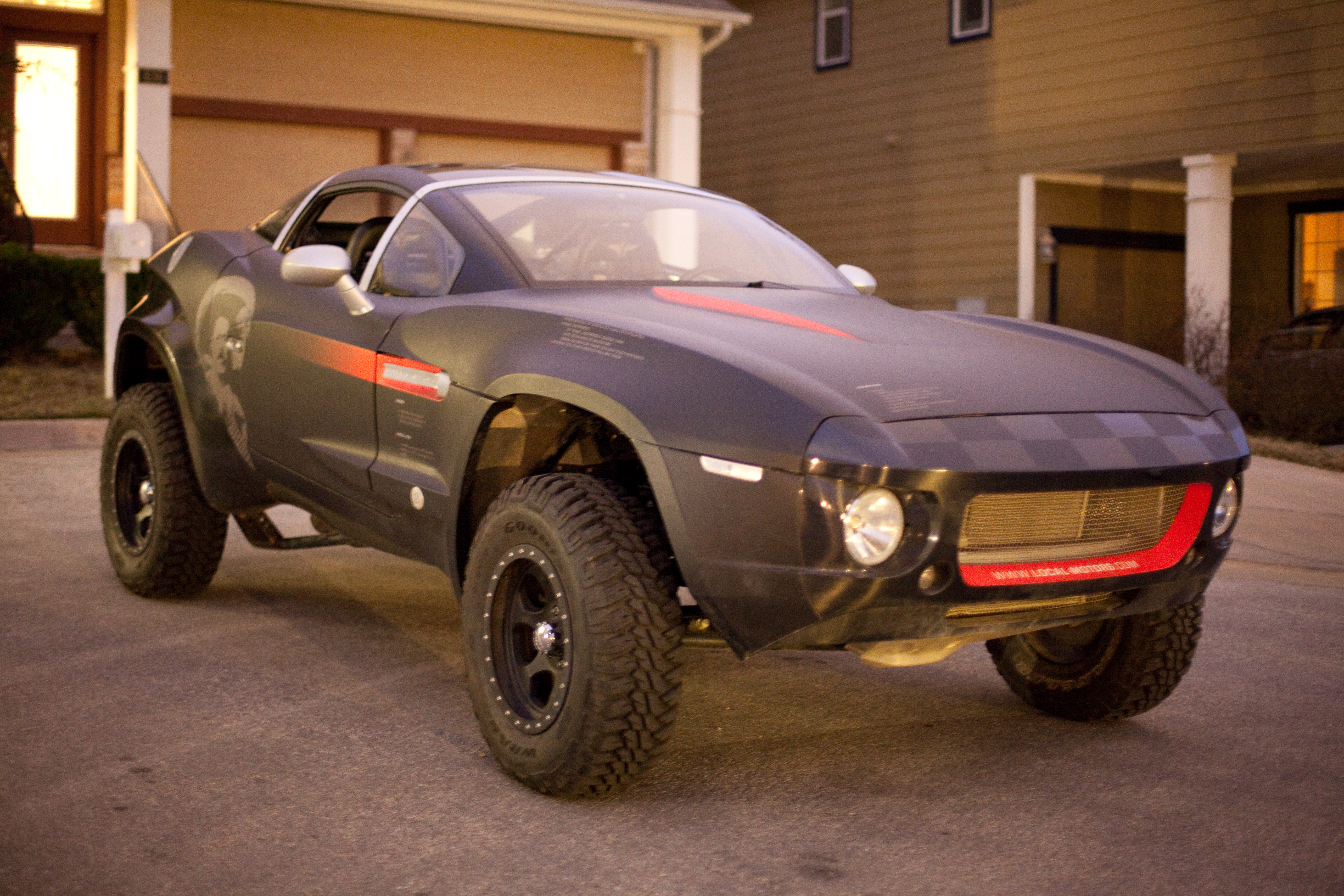 Local Motors Rally Fighter >> Rally Fighter Wikipedia