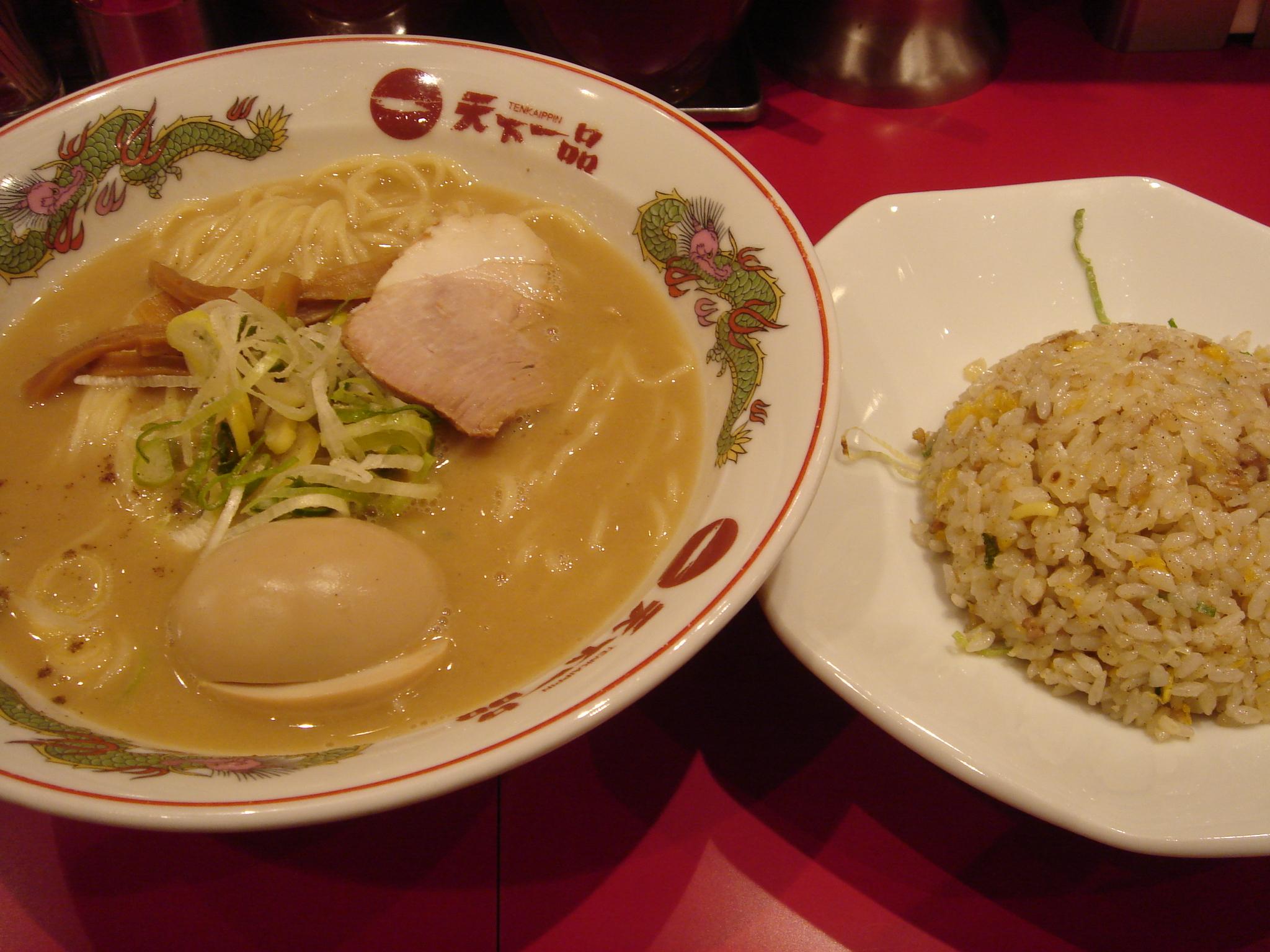 Ramen and fried rice by shibainu in kichijyoji%2c tokyo