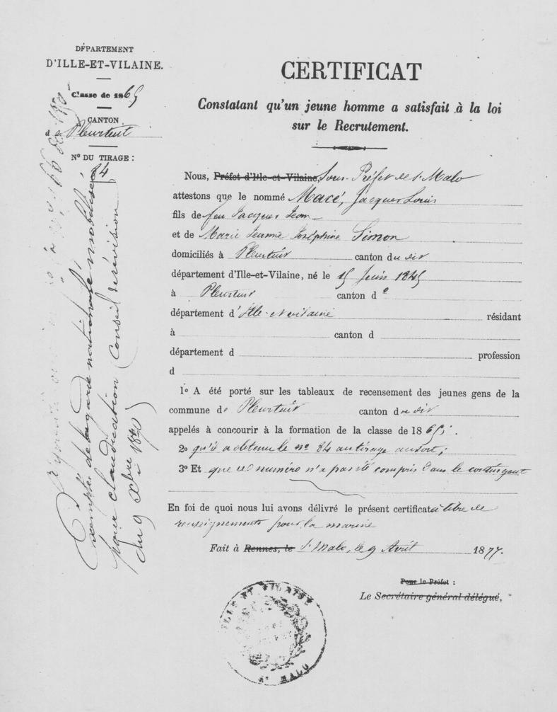 Service militaire en france wikip dia - Certificat de conformite maison obligatoire ...