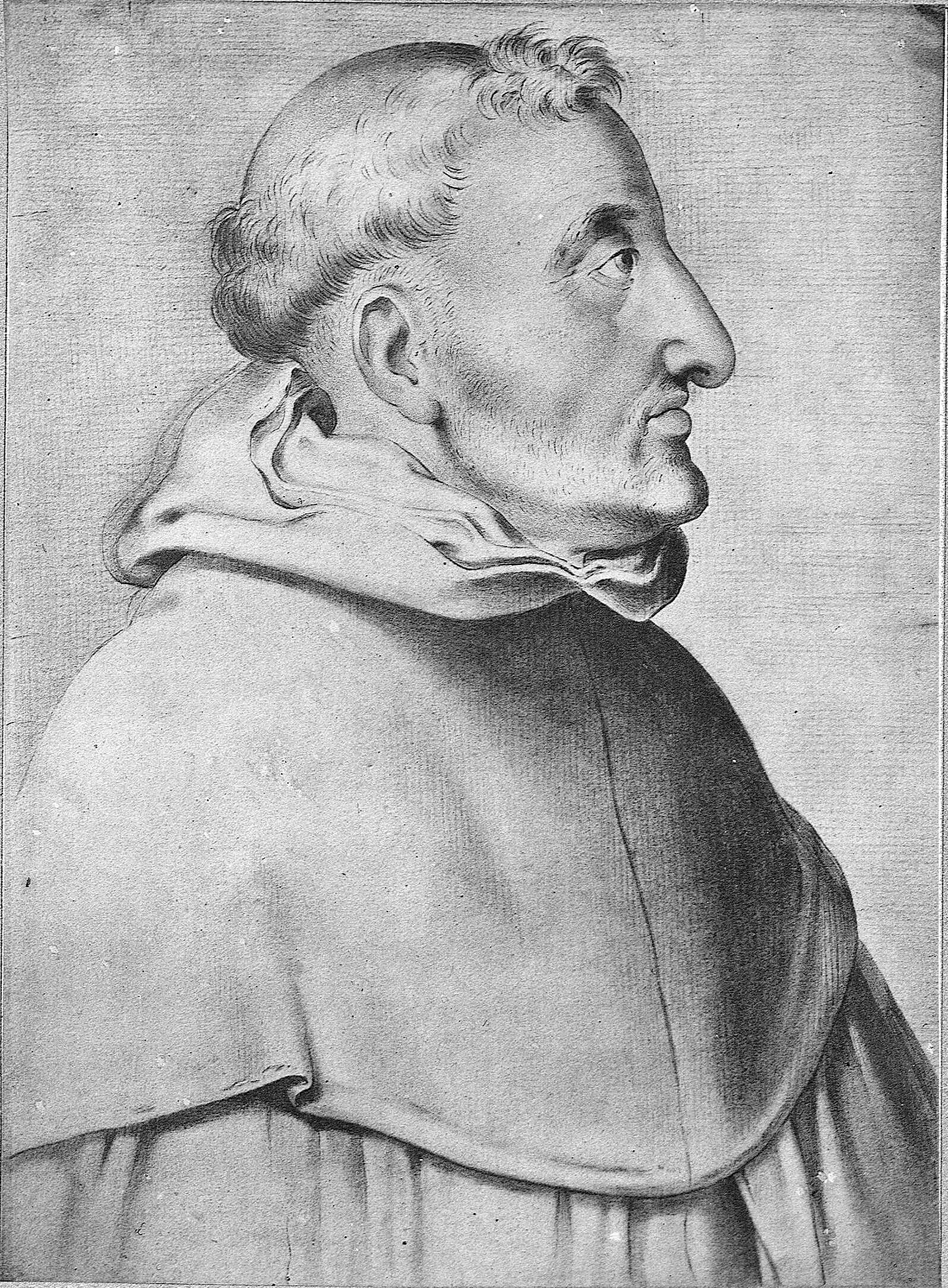 Louis of Granadain a drawing by [[Francisco Pacheco