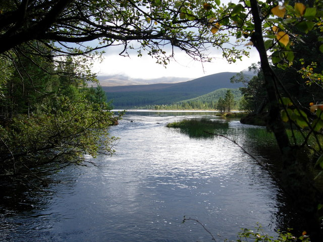 River Luineag and Loch Morlich - geograph.org.uk - 278990
