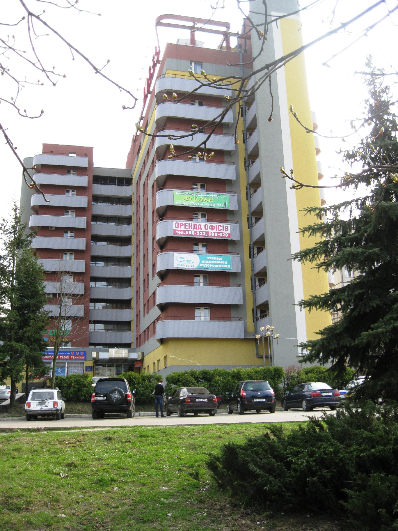 Hotels in Rivne and region: a selection of sites
