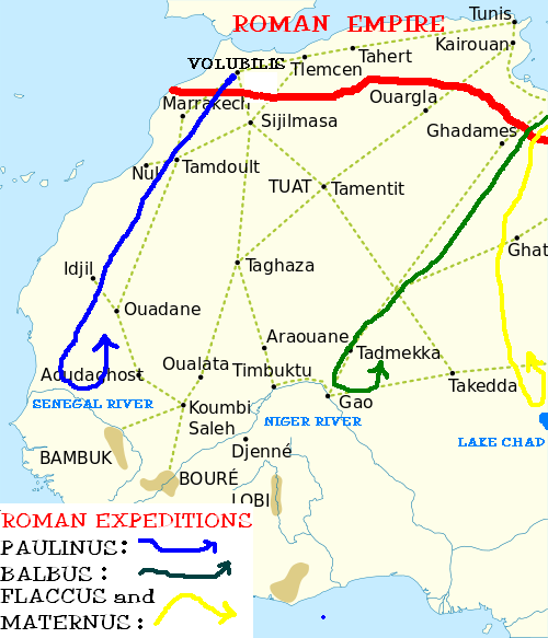 Roman Expeditions To Lake Chad And Western Africa Wikiwand
